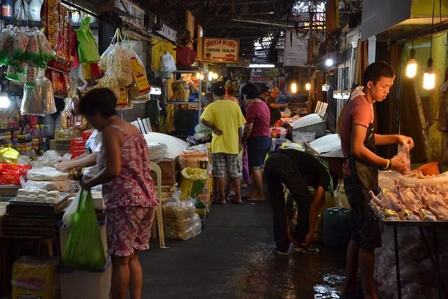 Quinta Market- chicken section