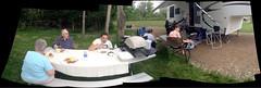 King family picnic at Pease Creek