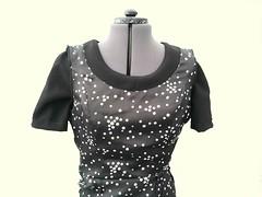 Black Full Circle Skirt Dress