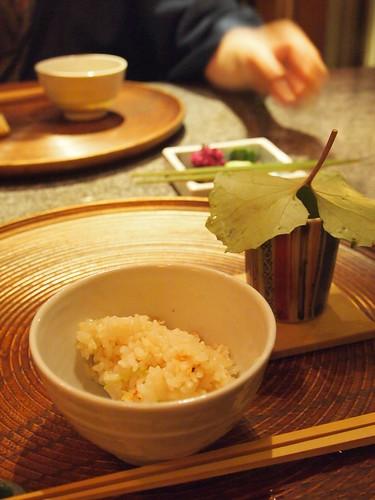 新生姜桜えびご飯2