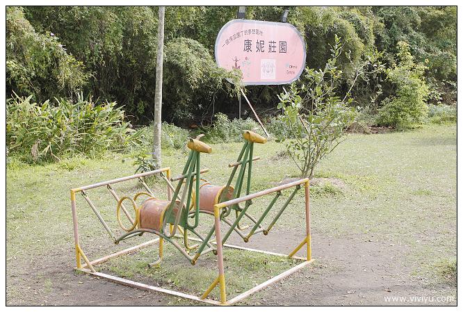 [桃園.美食]康妮莊園.親子戶外餐廳~沙坑親子同樂.櫻花飛舞時 @VIVIYU小世界