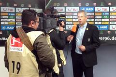 Borussia Mönchengladbachs Trainer Lucien Favre sah kein gutes Spiel seiner Mannschaft in Hannover