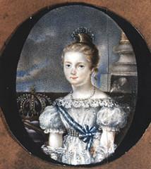 Isabel de Borbón y Borbón en la adolescencia
