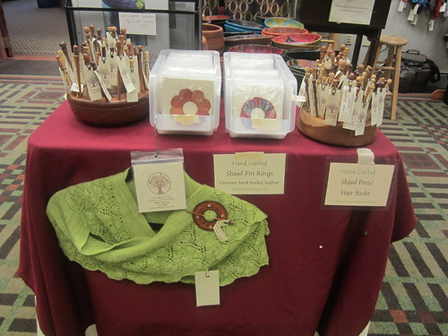 Knitting Notions booth