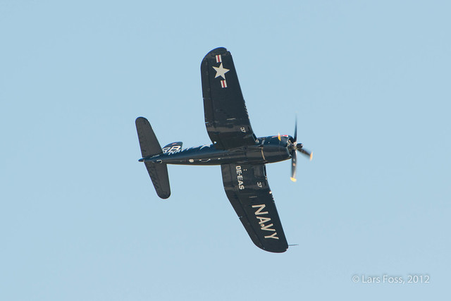 Chance Vought F4U-F Corsair