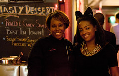 """Diva Dawg Owner, Chef Ericka Lassier & Susan Isaacs • <a style=""""font-size:0.8em;"""" href=""""http://www.flickr.com/photos/85752600@N06/10710866605/"""" target=""""_blank"""">View on Flickr</a>"""