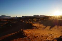 Namibian sandhills