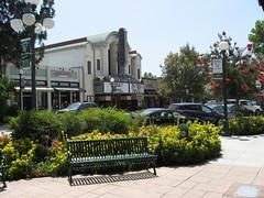 Downtown Monrovia, California