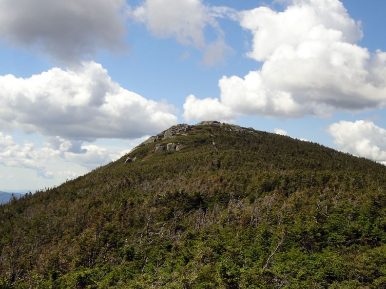 The summit approach of South Twin Mountain on the North Twin Spur.