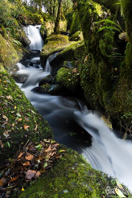 Colly Brook Upper Falls - Offset