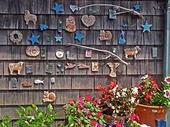 Decorated Wall at Block