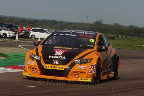 Matt Neal during the BTCC Weekend at Thruxton, May 2016