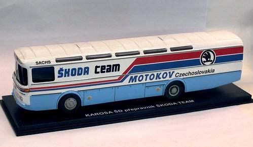 Foxtoys Karosa SD11 Skoda Team (1)