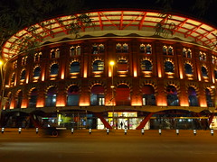 Former bullfight ring now a mall
