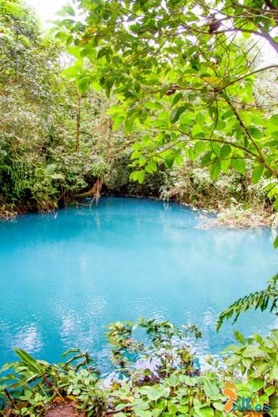 Laguna Azul, no Rio Celeste (PN Vulcán Tenorio, Costa Rica)