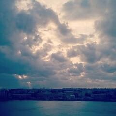 Fantastic sky... #sky #saintpetersburg #clouds #nature #city
