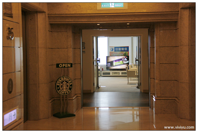 [美食.台北]101大樓中的祕境.35樓星巴克~簡單教學該如何前往(2015需提前預約) @VIVIYU小世界