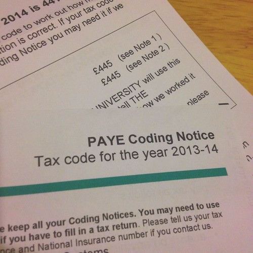Today is all about...realising you've been paying the wrong tax for months