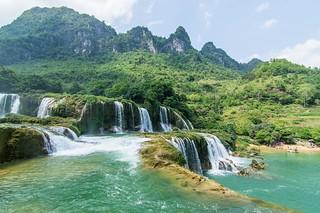 ban gioc waterfall - vietnam 2
