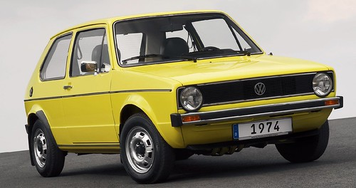 Volkswagen Golf 3-door 1974-83