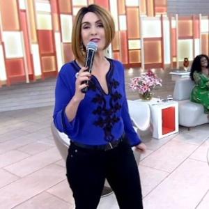 """Fátima Bernardes """"troca de cabelos"""" no """"Encontro"""""""