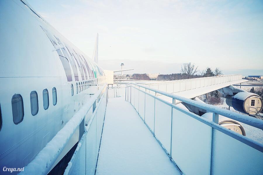 2016.07.08 | 看我歐行腿 | 只載去見周公的飛機,瑞典斯德哥爾摩機場旁的 Jumbo Stay 特色青年旅館22