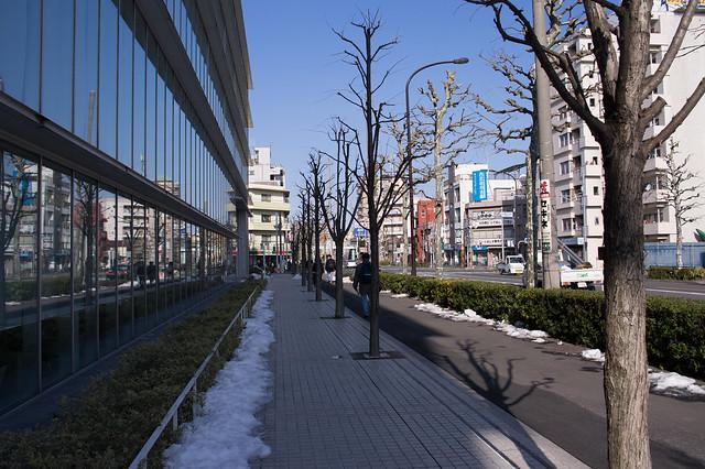 東長崎付近