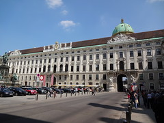 Hofburg Palace Imperial Apartments wing