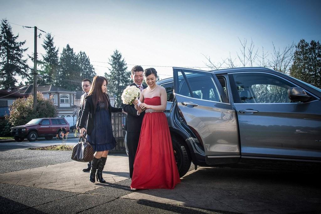 溫哥華當地婚禮紀錄