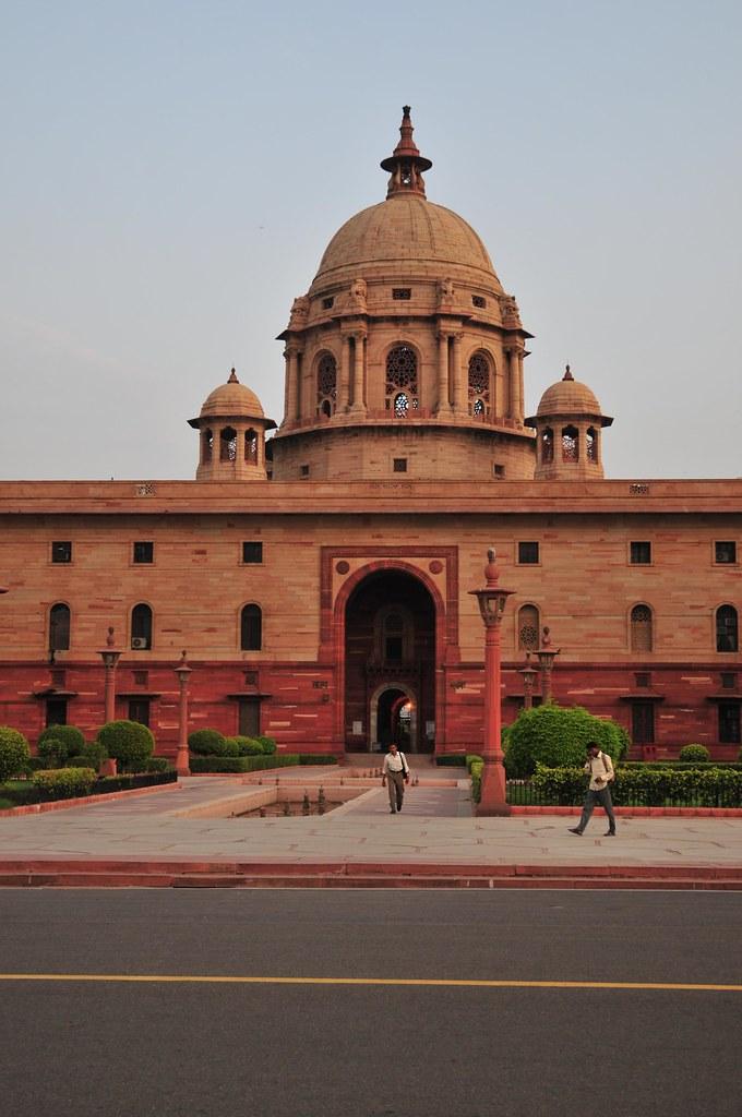 Day in New Delhi