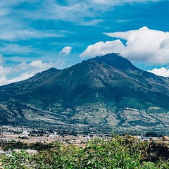 Day 439. Was so exhausted yesterday I passed out at 8:30. I started the gradual climb to Quito yesterday and it'll be uphill for another three days. Really enjoying Ecuador so far, my first city, Ibarra, is clean, calm, and has some decent sidewalks. #the