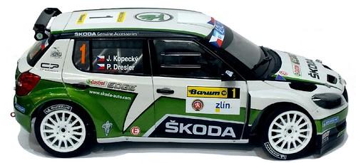 Abrex Skoda Fabia S2000 FL