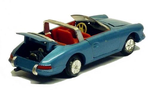 Sablon Porsche 911 Targa rear open