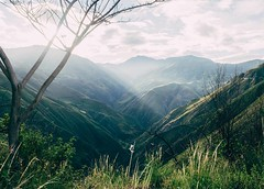 First day back and it's pouring rain. Right now I'd take the brutal mountains of Colombia for some sun. #theworldwalk #travel #ecuador