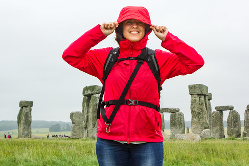 Rainy day at Stonehenge