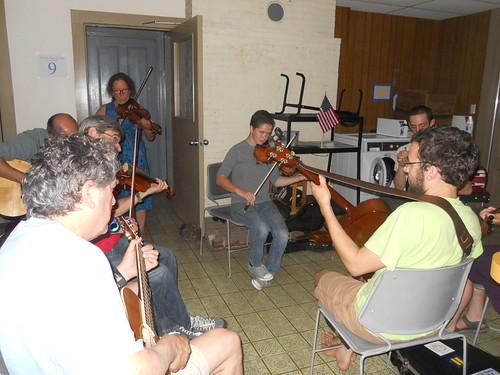 After hours session at Acadia Trad School Week-2 July 2013