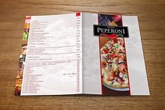 Menu Pizzerii Peperoni