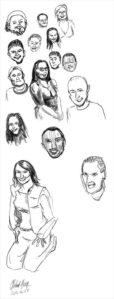 Character studies 1