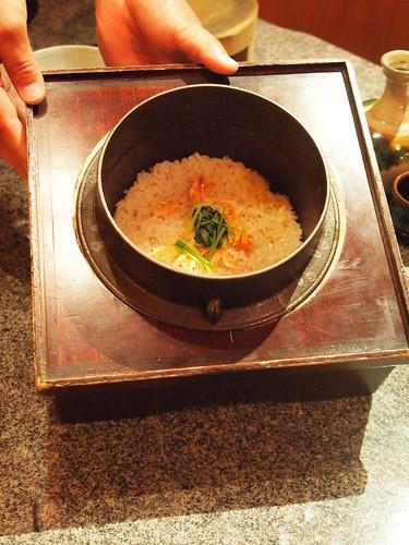 新生姜桜えびご飯1