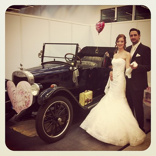 Just married <3 Brautmoden Ewilli @ Hochzeitsmesse #Stuttgart