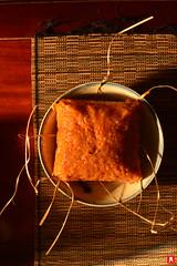Gac Square Cake Vietnamese Tet