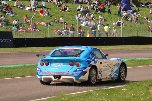 Stuart Middleton in the Ginetta Juniors during the BTCC Thruxton Weekend: 8th May 2016