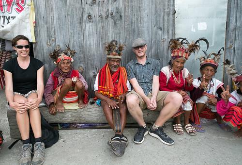 Us with the gang at Banaue