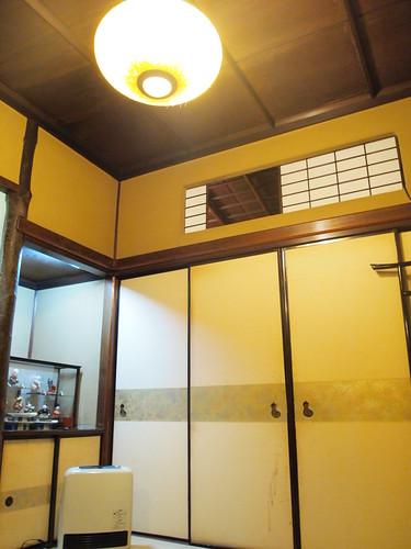 うなぎ喜代川の2階部屋