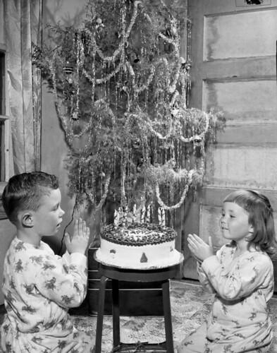 Craig and Joan Herring celebrating their birth...