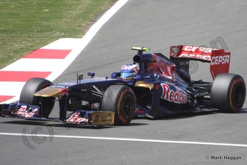Daniel Ricciardo in the 2013 British Grand Prix