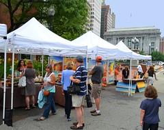 The WaterFire Arts Festival Plaza