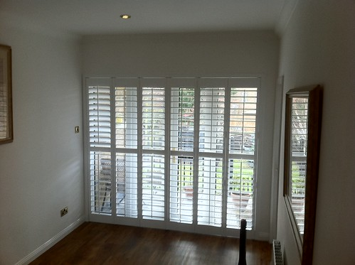 Patio Door Shutters, Maldon, Essex