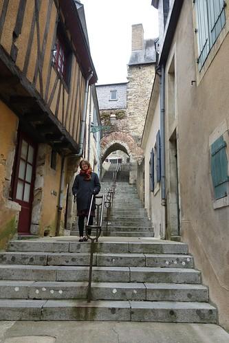 Promenade dans la ville du Mans