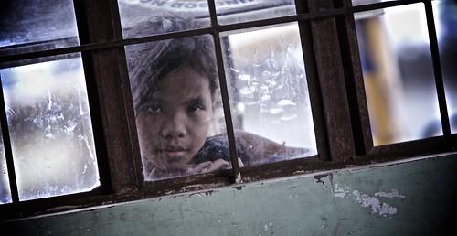 Girl in window by John Christian Fjellestad, on Flickr